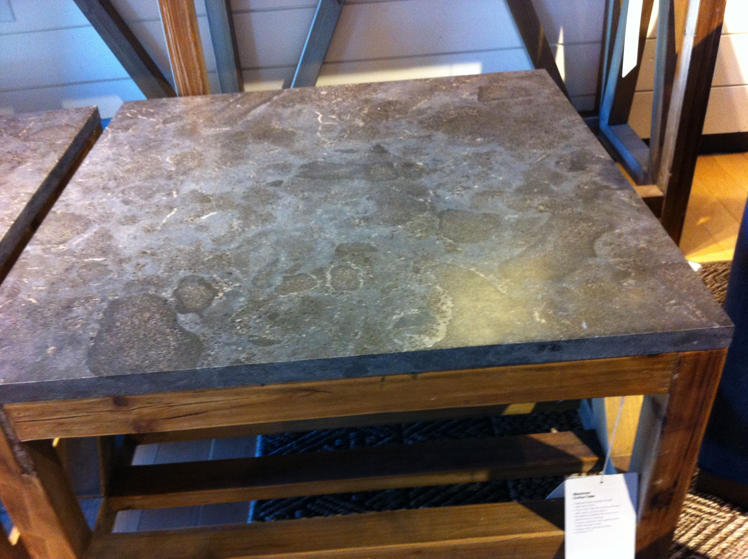 Bluestone Coffee Table At Crate Barrel