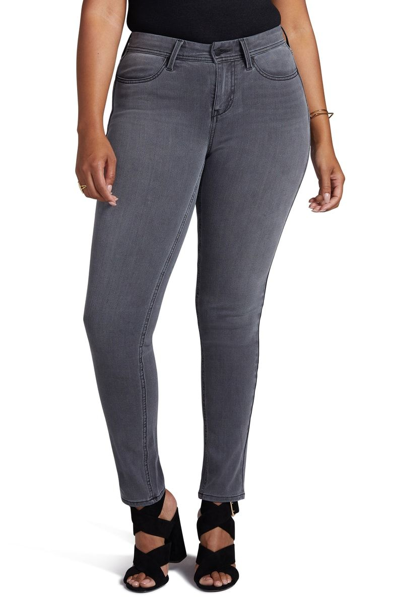 7930dc18a3e01 Free shipping and returns on Curves 360 by NYDJ Skinny Jeans (Dusk) at  Nordstrom.com. From the innovative stretch denim that boosts in all the  right places ...