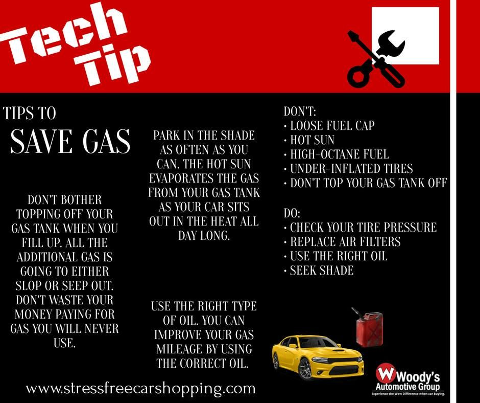 There are so many ways to save on gas! Check out these