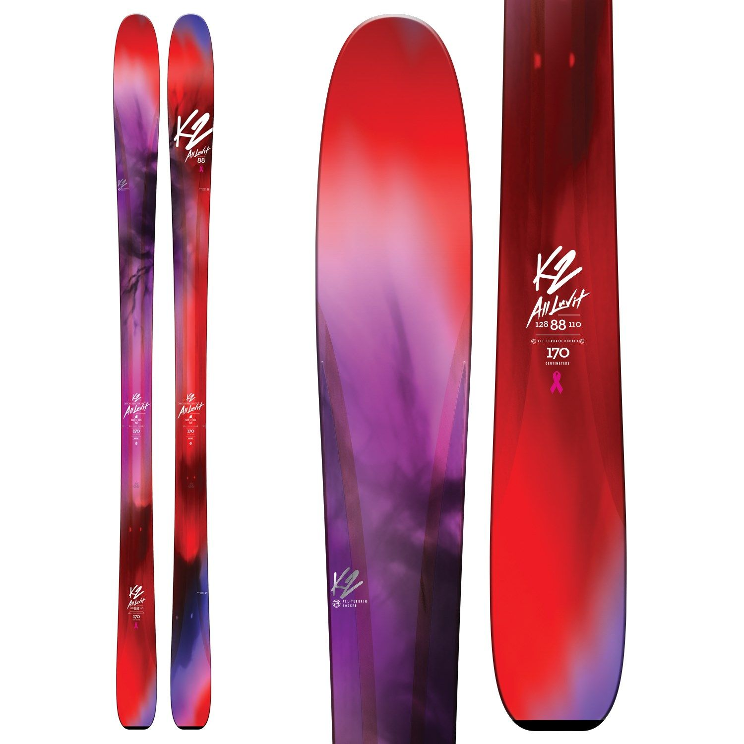 K2 AlLUVit 88 Skis - Women's 2017 (With Images)