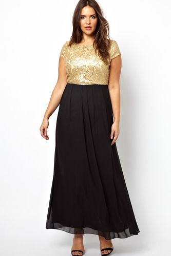 54a0946ea10 The Best Plus-Size Dresses To Help You Sparkle On NYE  refinery29 http