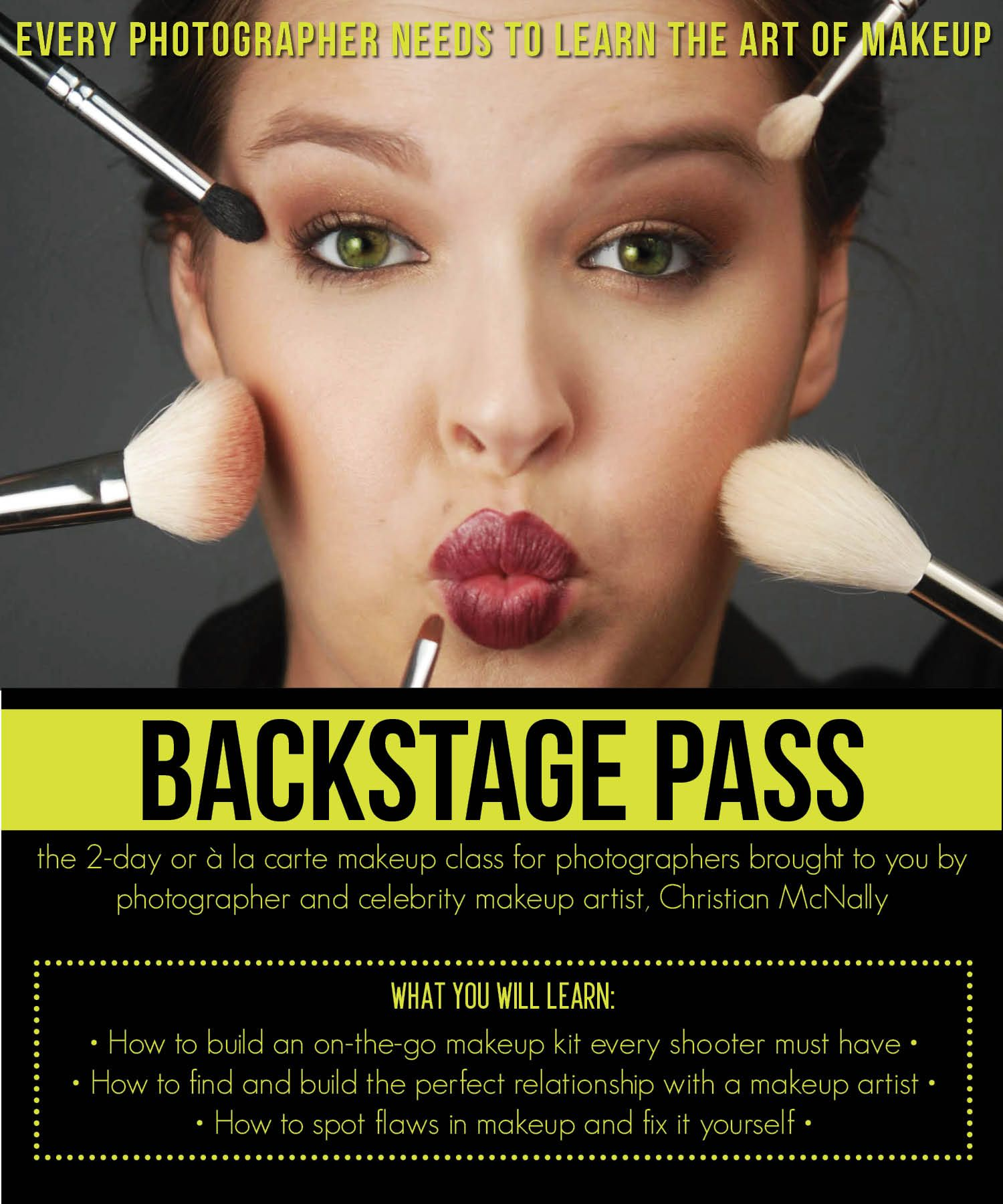 Wpa Is Hosting A 1 Or 2 Day Hands On Makeup Seminar For Photographers Equip Yourself With The Power Of Knowledge Celebrity Makeup Artist Makeup Class Makeup