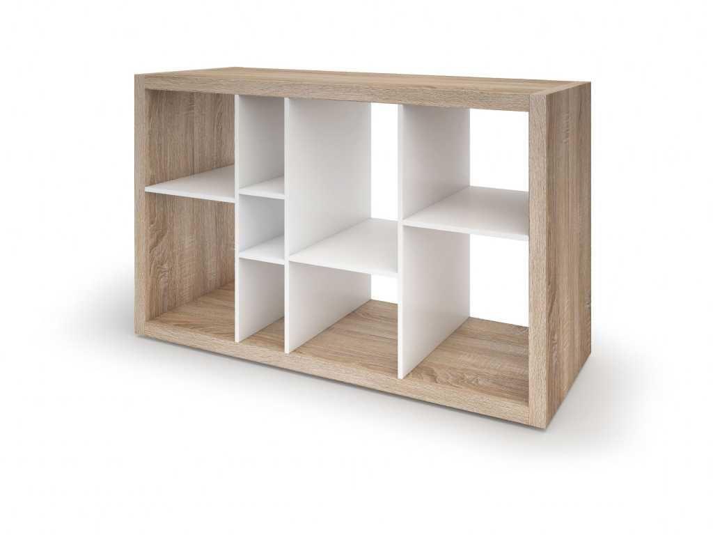 Low Wide Bookcase Best Bedroom