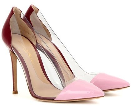 Cuir Plexi Pompes Gianvito Rouge uGHscoU
