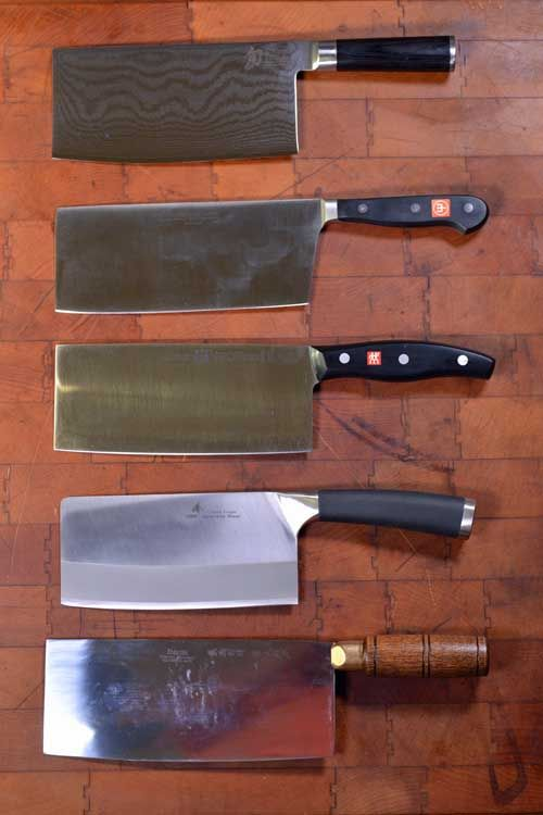 Chinese Vegetable Cleavers How To Choose And Use These