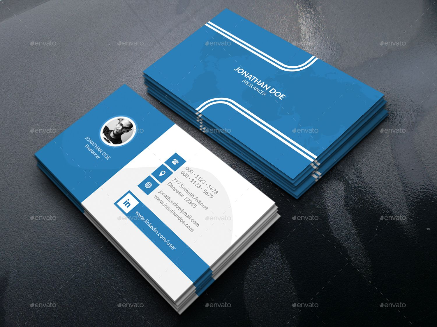 Personal Business Card Bundle Personal Business Cards Design Business Cards Creative Buy Business Cards