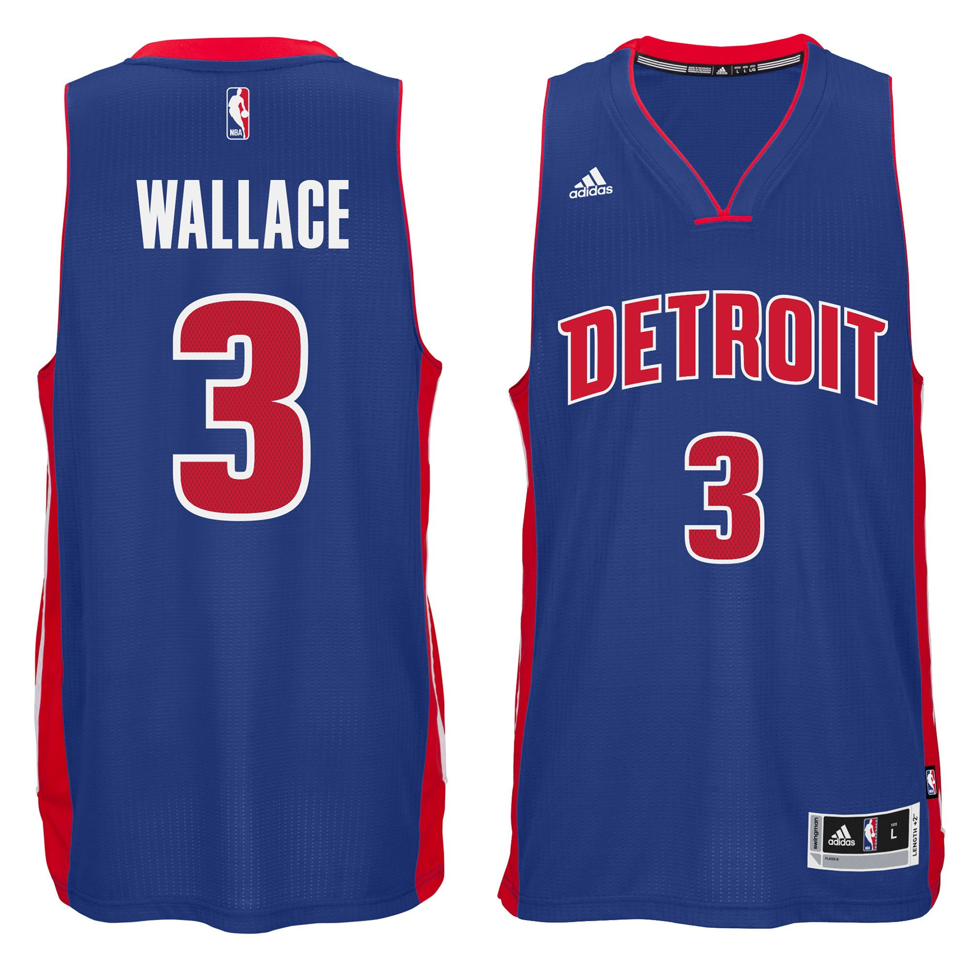 ff806bde Men's Detroit Pistons Ben Wallace adidas Royal Swingman Alternate Jersey  Ben Wallace, Nba Store,