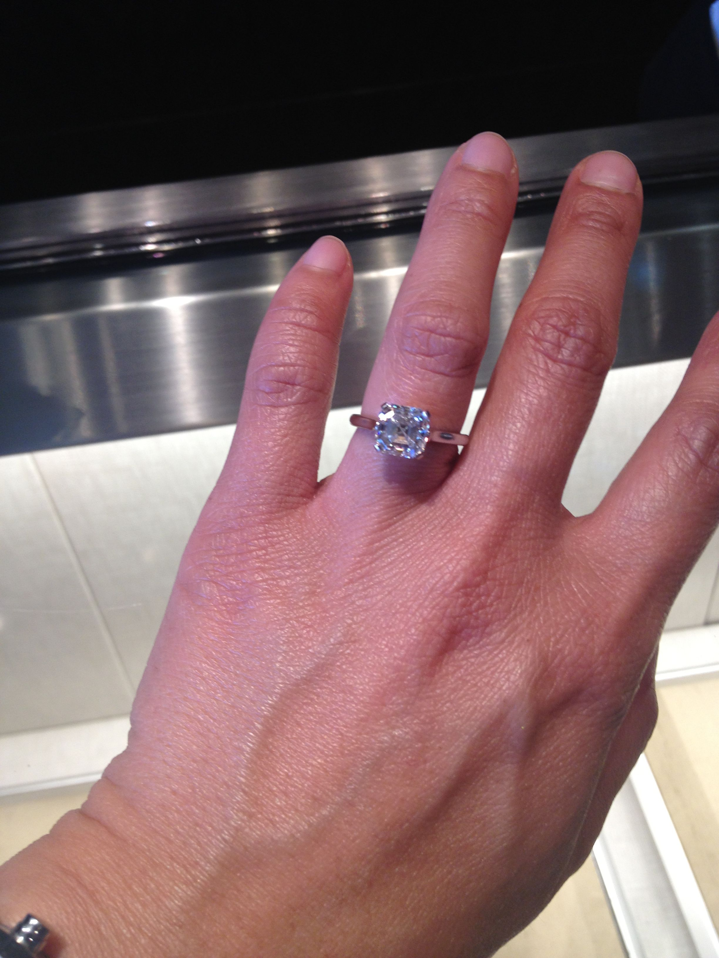 Tiffany\'s 2.5 carat $53K | Put a Ring on It | Pinterest | Tiffany s