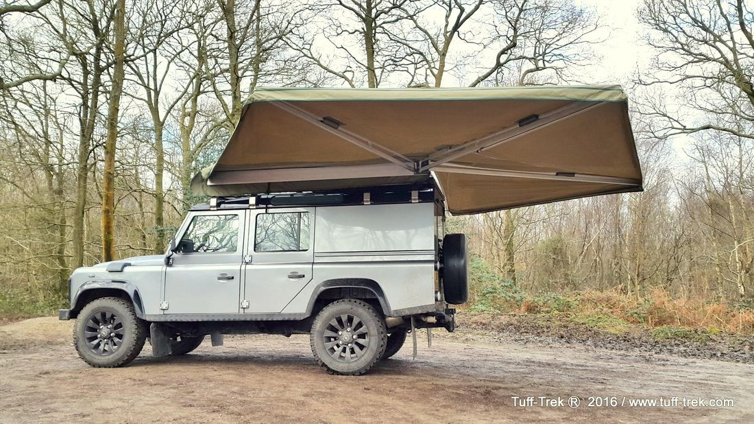 Tuff Trek Range Of Vehicle Mounted Awnings Systems And Accessories