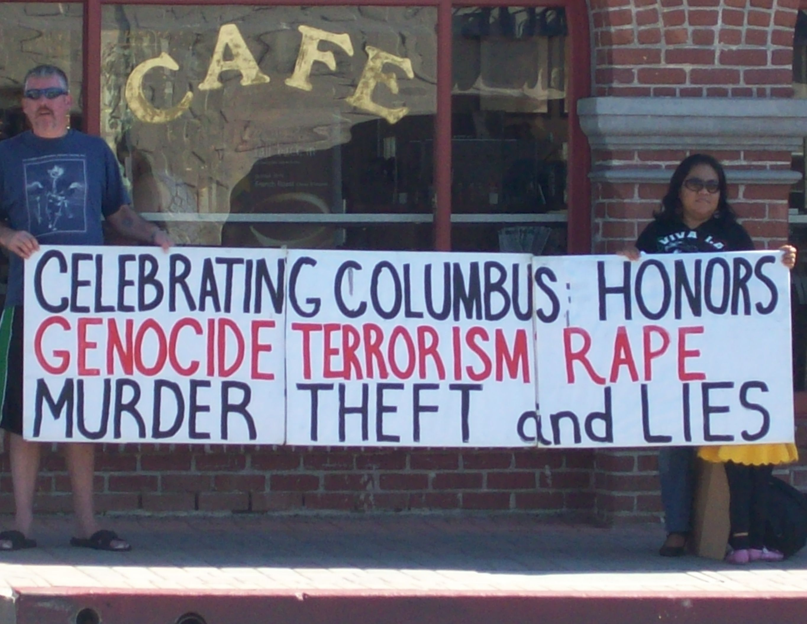 Why Does the USA still Celebrate this Day and Honor this Murderer? Please read…