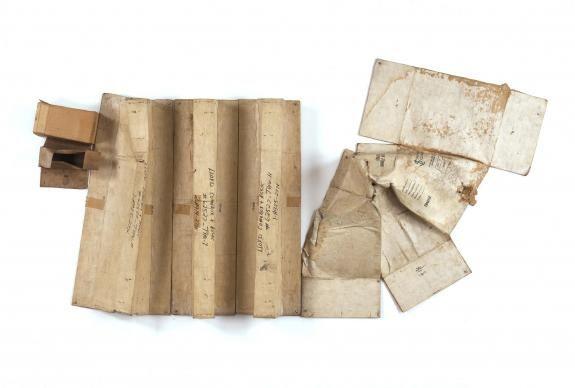 Baton Blanche (Cardboard)   Robert Rauschenberg Foundation