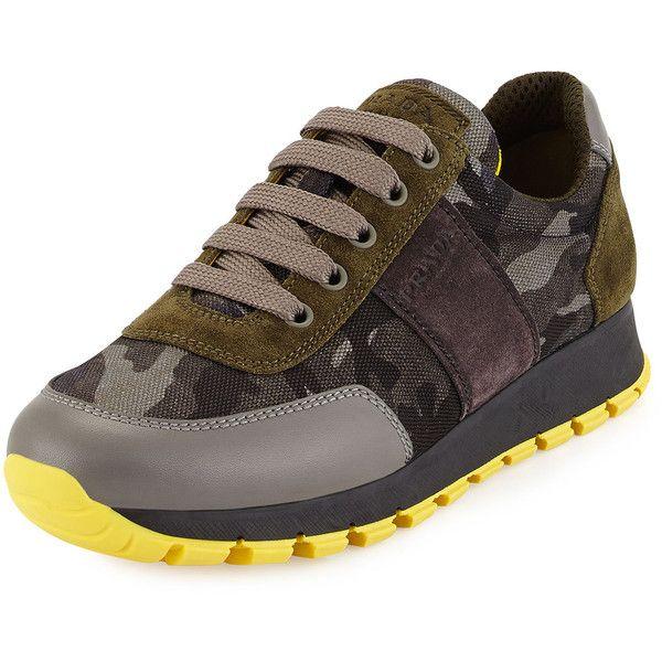 Camouflage Prada SneakerWhat Wearing Lace Tech Up I'm 1cF3JuKTl5