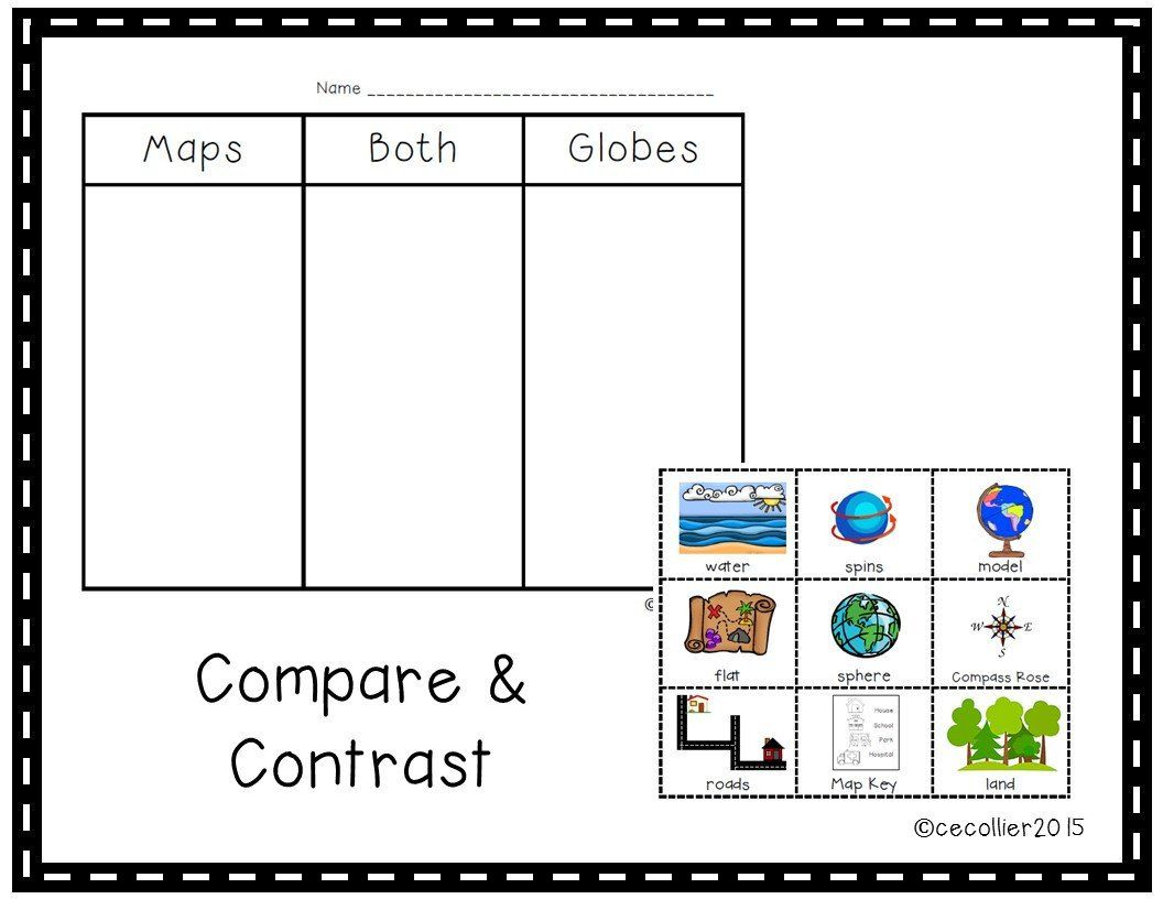 Map Worksheets For Kindergarten 2 Content Me The Map