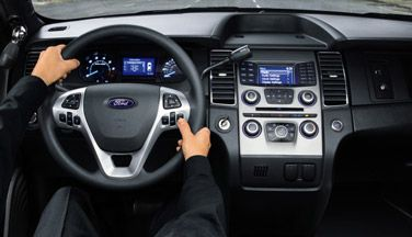 2015 Ford Police Interceptor Sedan Cockpit Is Specifically
