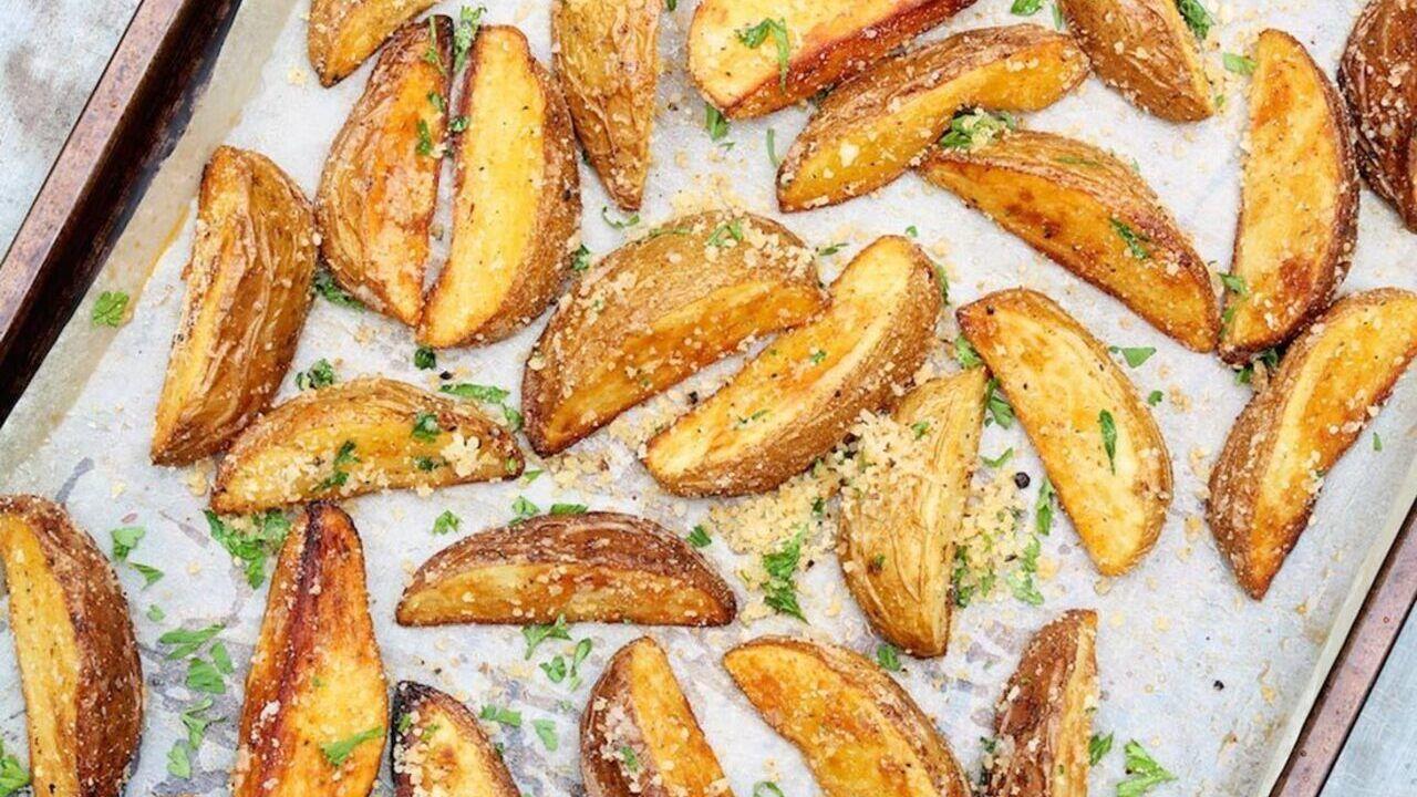Resep Mudah Membuat Potato Wedges Yang Enak Resep Resep Vegetarian Resep Makanan Memasak