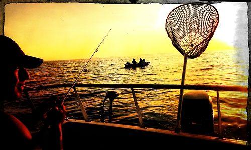 Fishing Gone Fishing Sunrise Sunset Fish