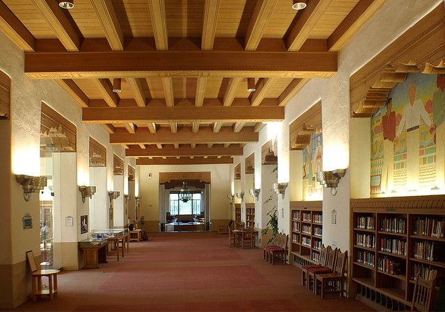 Zimmerman Library West Wing University Of New Mexico In