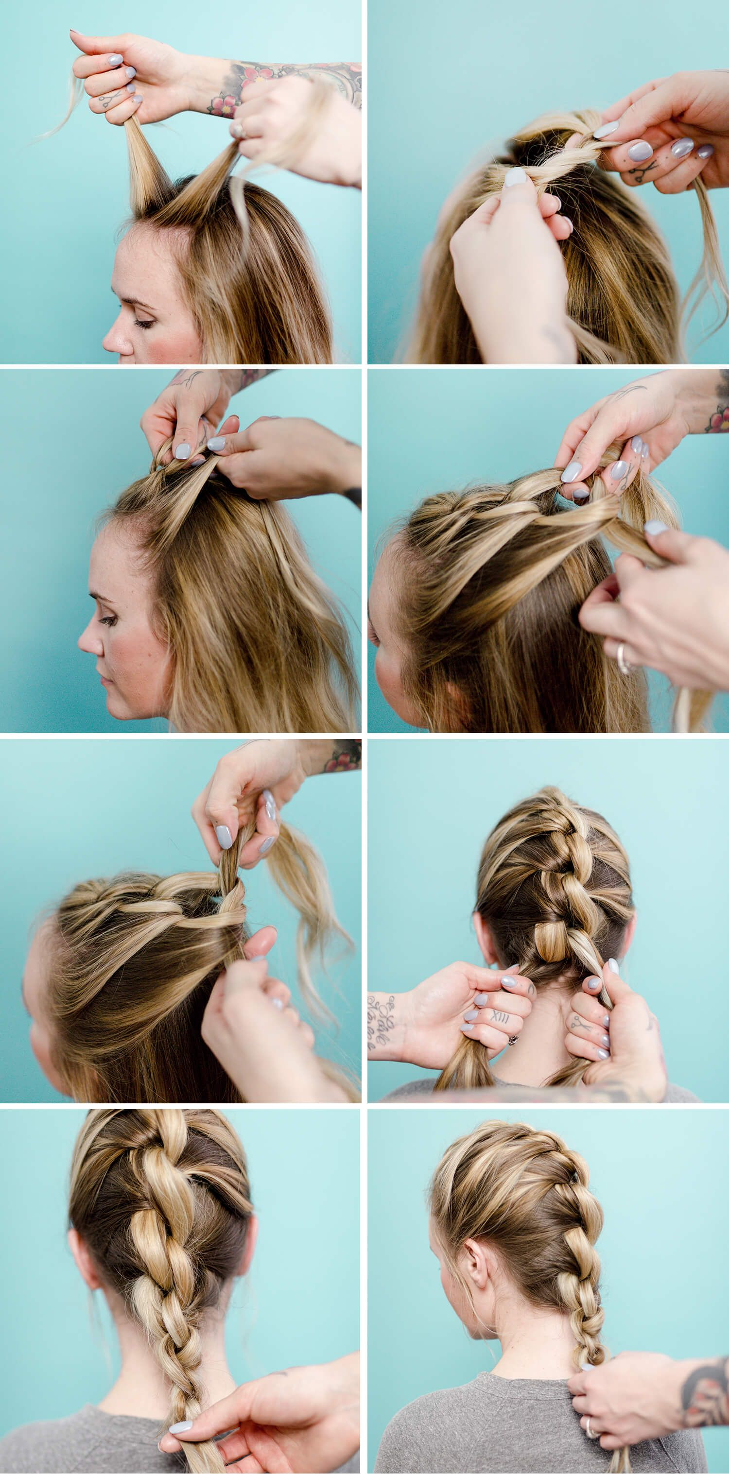 Easy Wonder Woman Inspired Knotted Braid A Beautiful Mess Braided Crown Hairstyles Braided Hairstyles Hair Styles