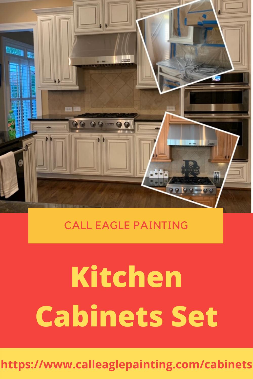 Kitchen Cabinets Set In 2020 Kitchen Cabinet Molding Kitchen Set Cabinet Refinishing Cabinets