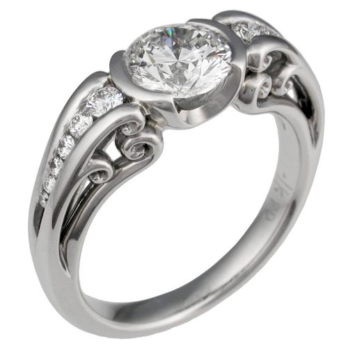 lesbian wedding rings with diamond Romance Lesbian Wedding Rings