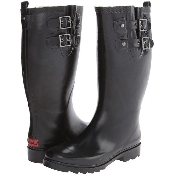 Chooka Posh Solid Tall Women's Rain Boots