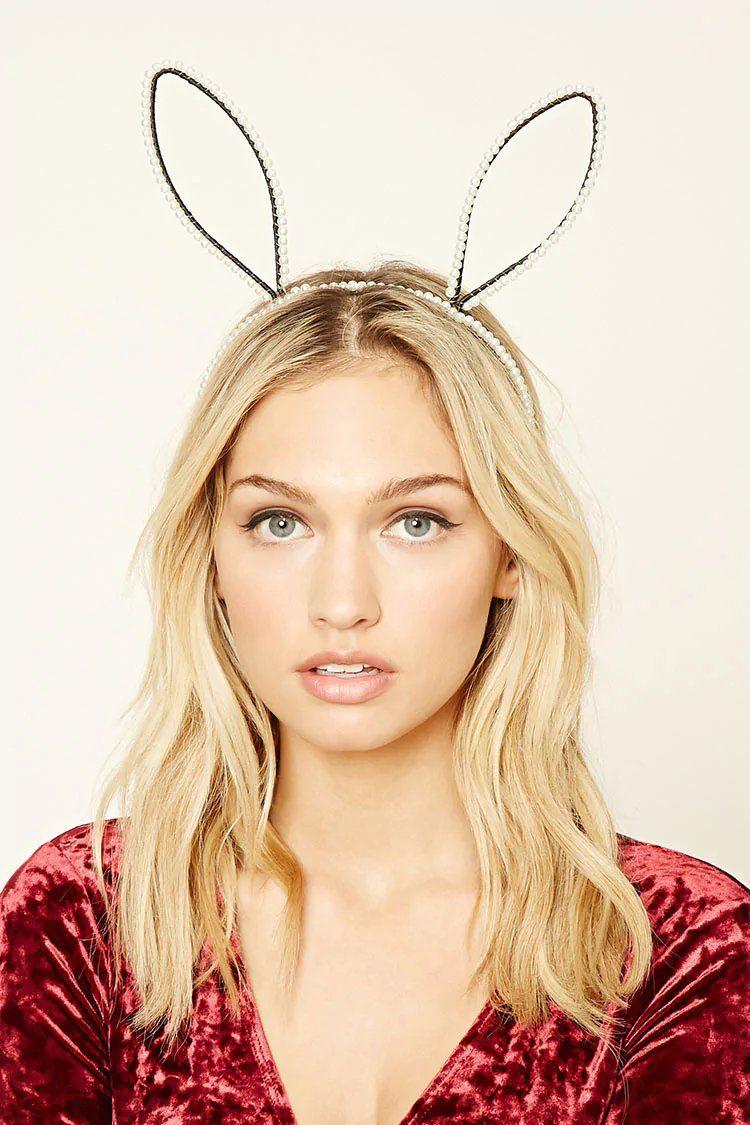 Product Name Faux Pearl Bunny Ear Headband 08dab75c8b7