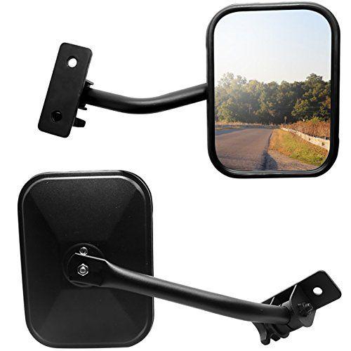 Door Off Side Mirrors Fit Jeep Wrangler Jk Jku Cj Tj Yj Dedc