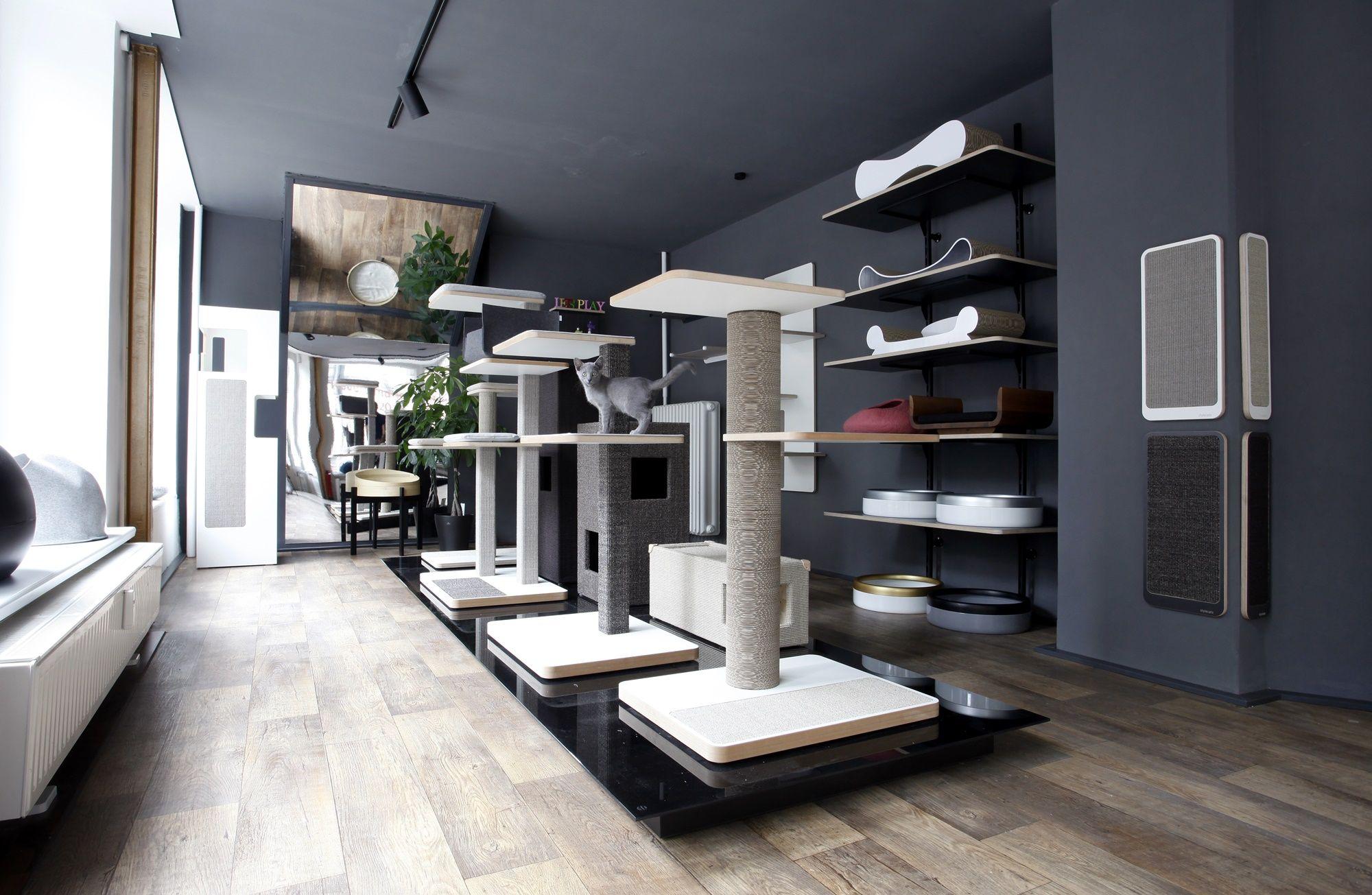 stylecats brand store in hannover. | design kratzbaum
