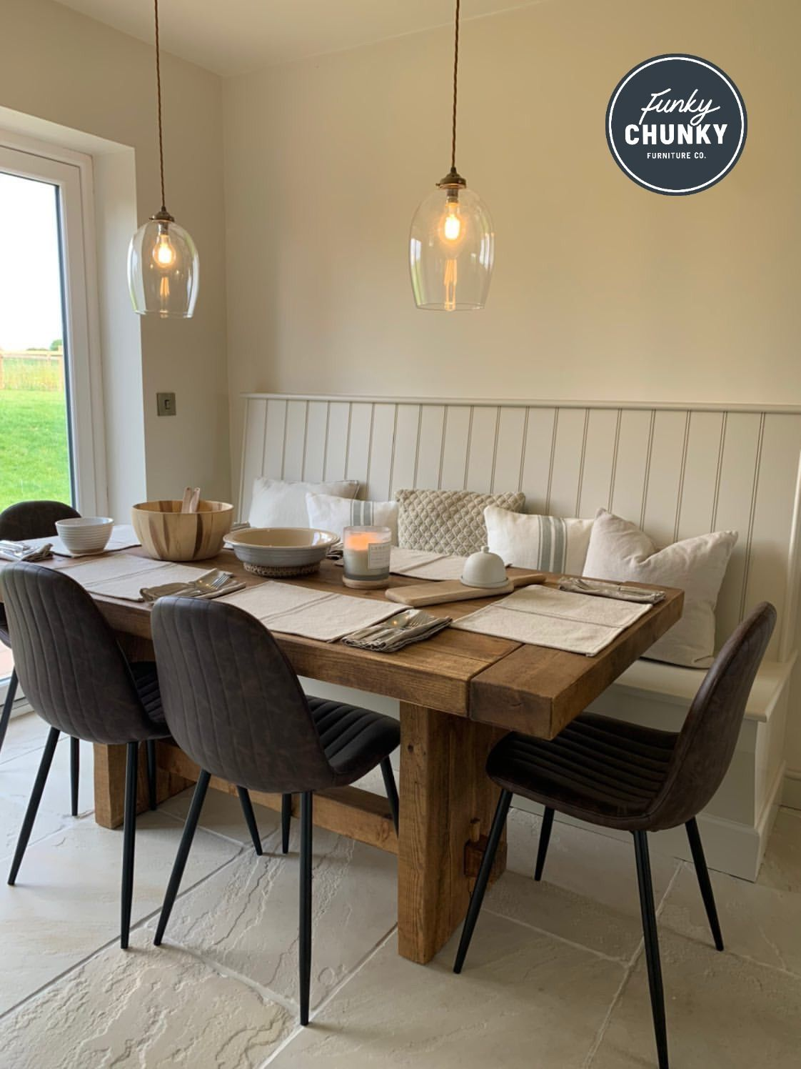 Derwent Dining Table - Handmade in the UK