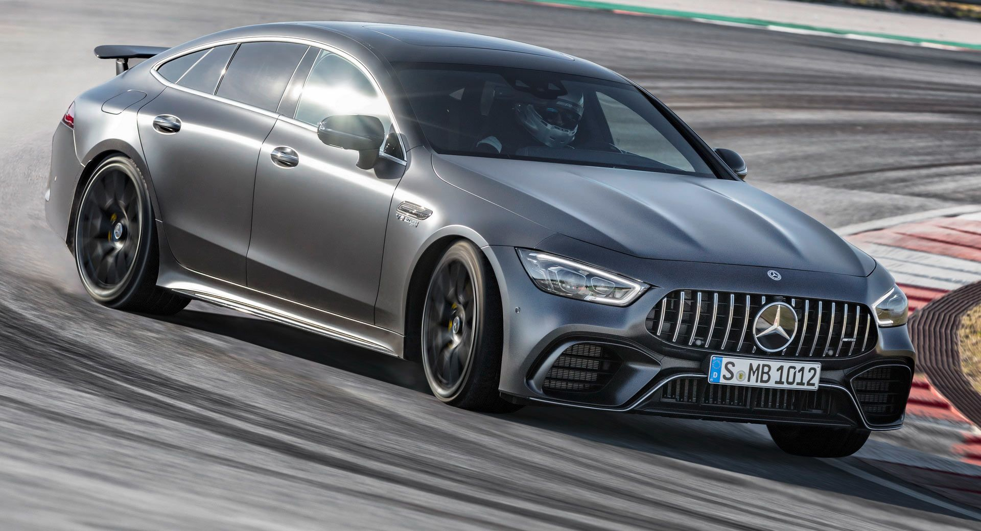 Mercedes Amg Gt 4 Door Coupe Is A Smart Looking 630hp Bruiser Carscoops Mercedes Amg Mercedes Benz Amg Bmw Classic Cars