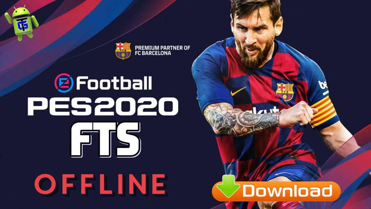 PES 2020 MOD FTS Android Offline APK OBB Data Download in