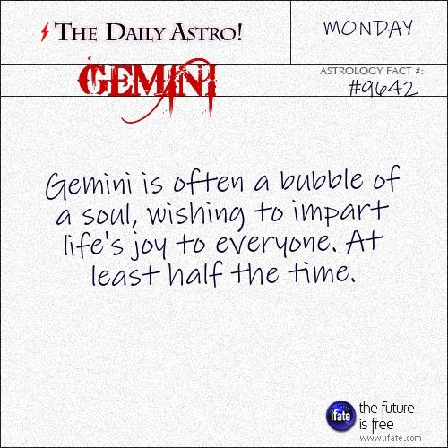 Gemini Daily Astro!: Do you read your own tarot cards?  Read them for free online right now! Visit iFate.com today!