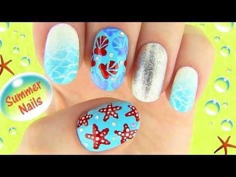 Summer Nails Http Ift Tt 2ulxenm Cc Sarabeautycorner Diy Comedy Makeup Nail Art Http Ift Tt Summer Nails Diy Nail Art Summer Beach Nail Art Designs