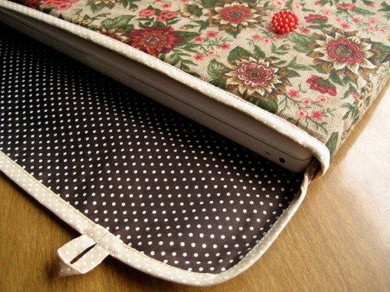 Fundas para laptop de tela nido foto bolsos pinterest - Fundas para bolsos ...