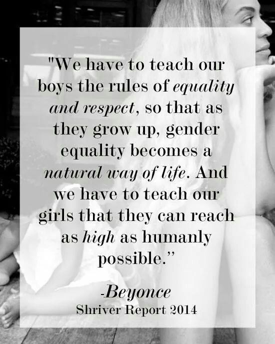 Equality Respect Girls Boys Feminism Quotes Feminism Equality
