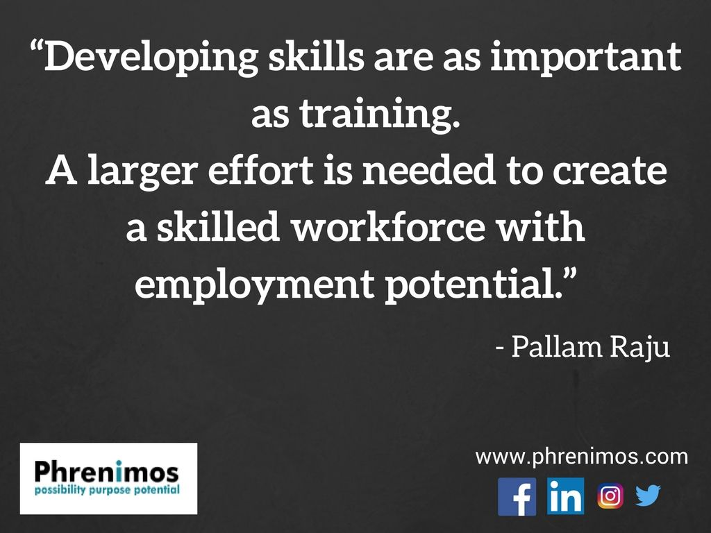 Developing Skills Are As Important As Training A Larger Effort