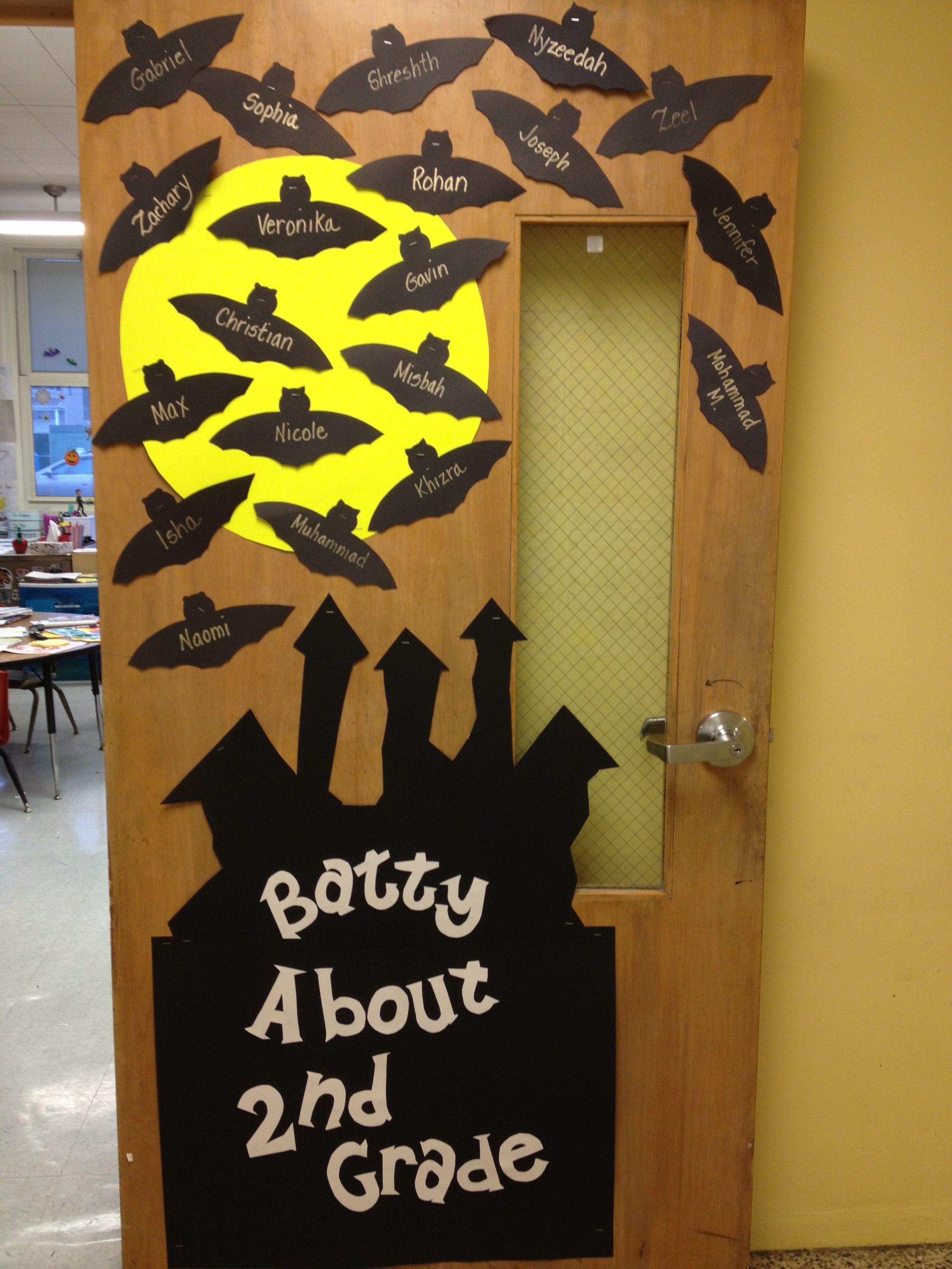 Halloween Themed Class Door Halloween Classroom Door Decor