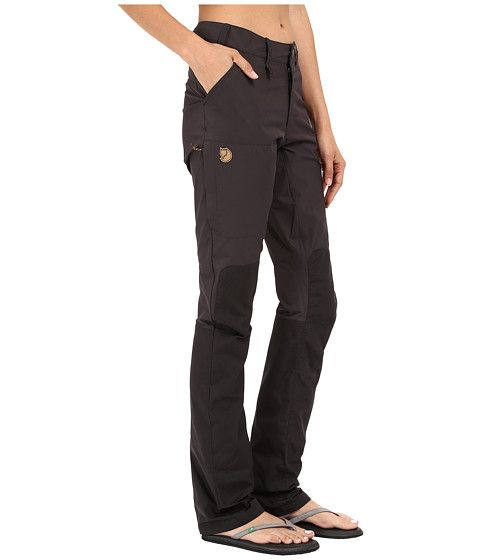 a1e6de39855 Fjällräven Abisko Lite Trousers Trousers Women, Mountaineering, Parachute  Pants, Backpacking, Black Jeans