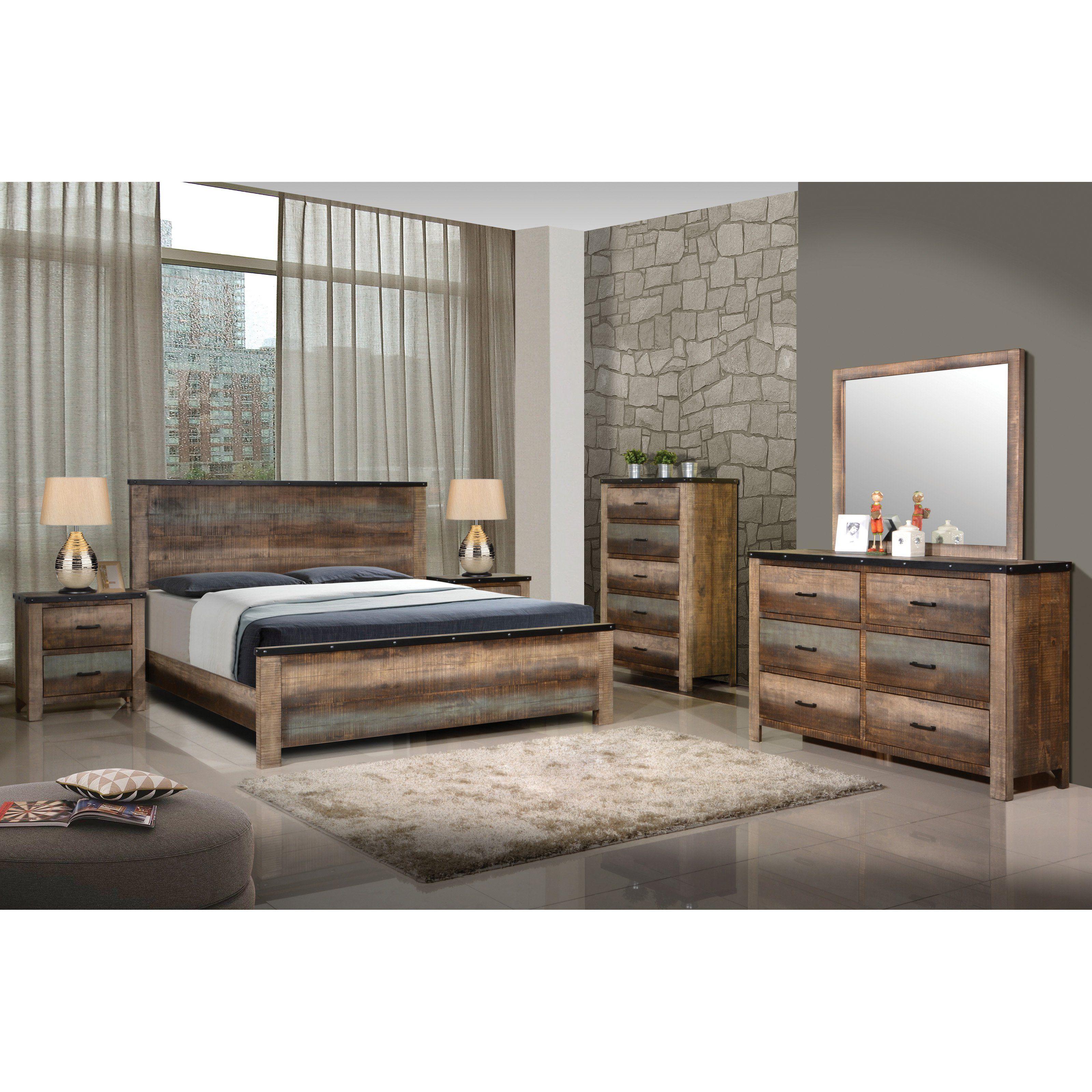 Coaster Furniture Sembene Panel Bed Bedroom sets queen