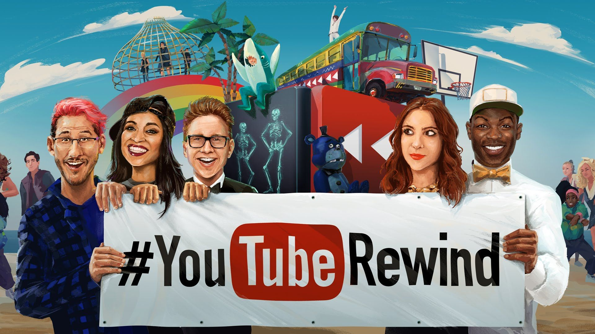YouTube 2015 – Retrospectiva – Superproduções musicais e os famosos virais | Intersites Marketing Digital