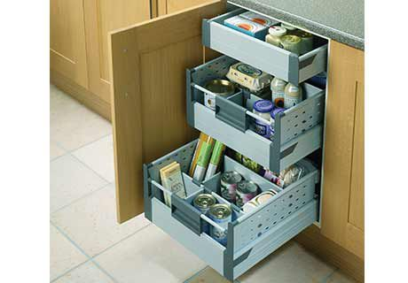 Exceptional Internal Drawers For Hi Line Base Unit | Benchmarx Kitchens U0026 Joinery