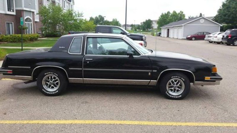 1987 Oldsmobile Cutlass Supreme Brougham Mi 15 000 Please Call Stephanie 810 569 8034 To See This Cutlass Oldsmobile Cars For Sale Pony Car