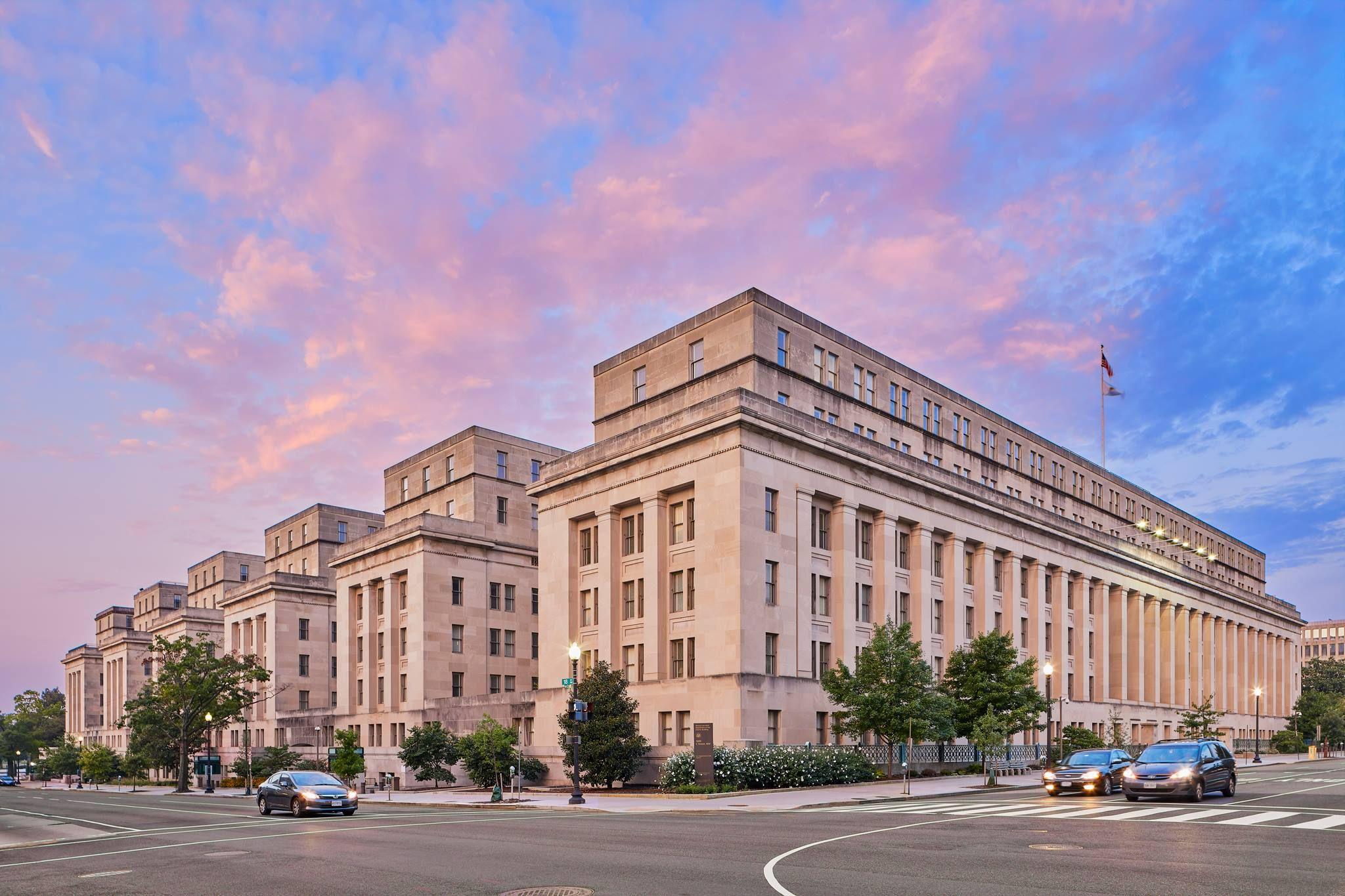 Washington D C Department Of Interior Building Washington D C