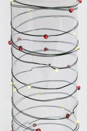 String these flexible, break-resistant, ultra-thin wire LED lights ...