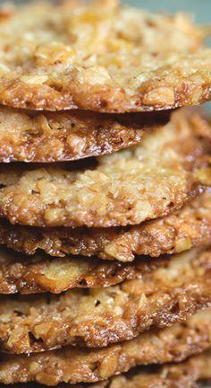 Potato Chip Lace Cookies | Bakers Royale