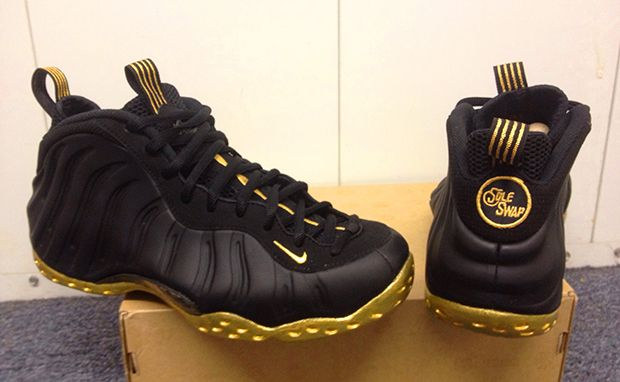 black and gold foams