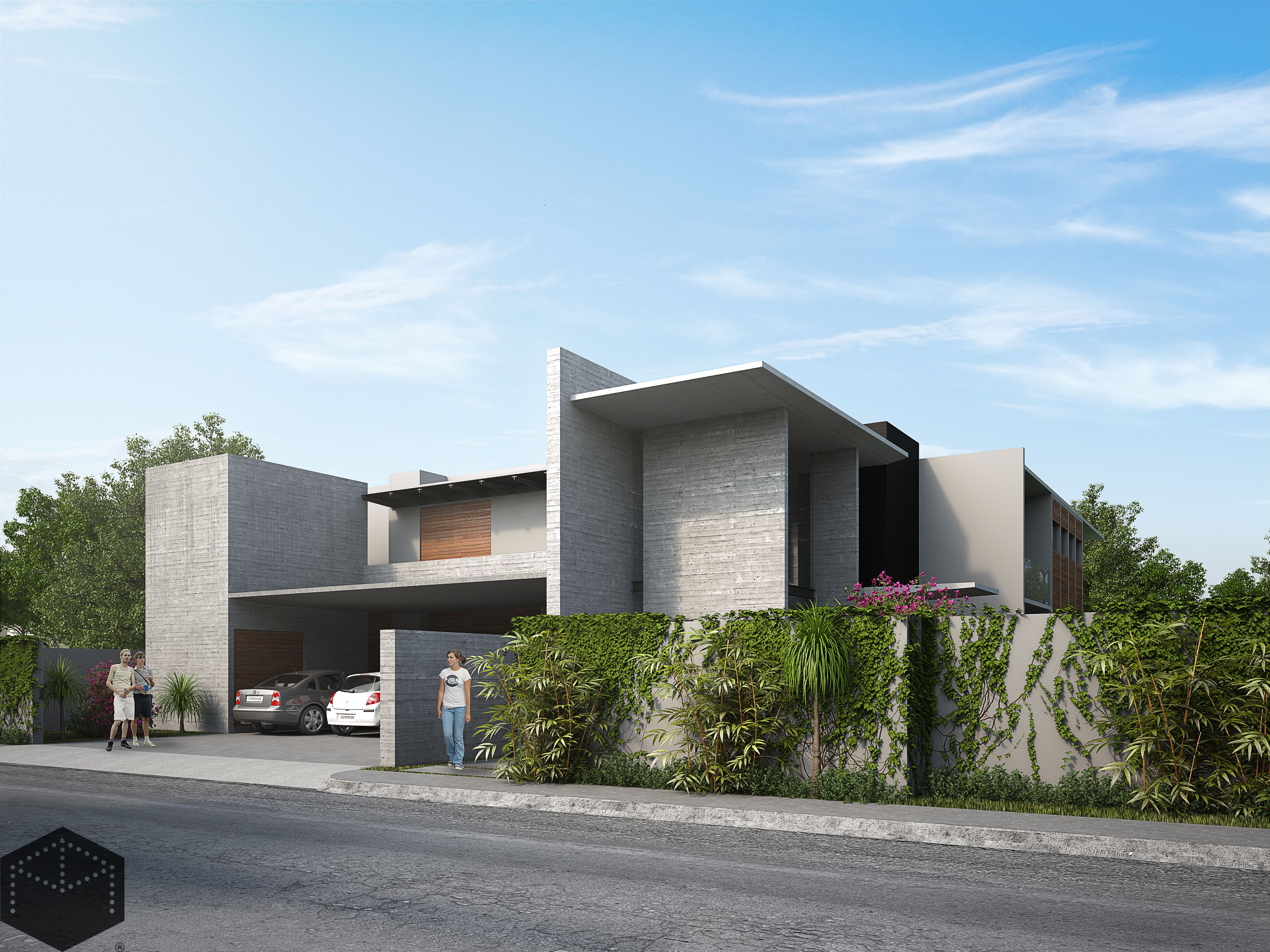Archi In Casa Moderna casa habitacion. diseño arquitectonico. arquitectura moderna