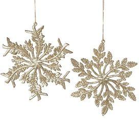 Swirling Snowflake Ornament
