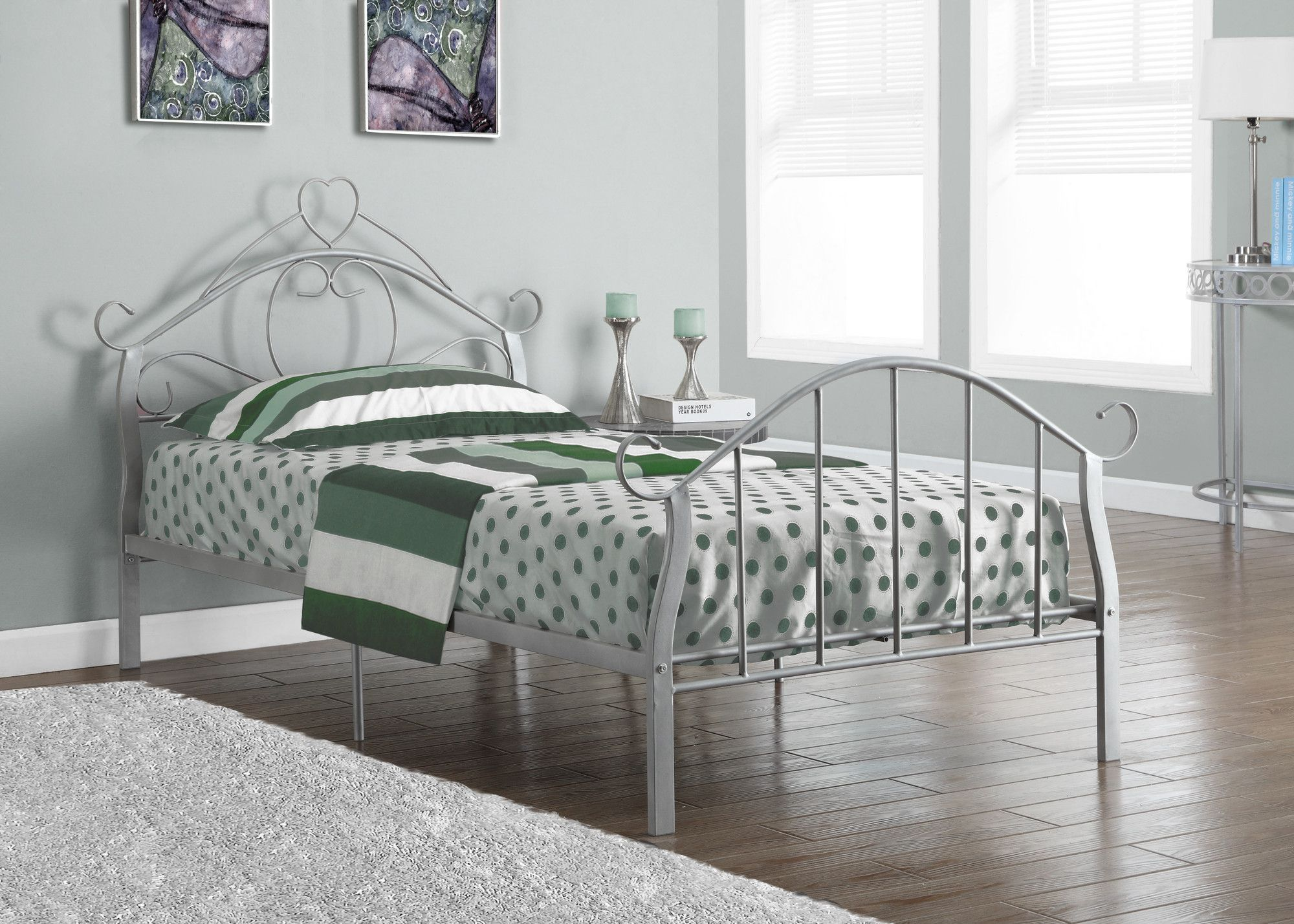 silver metal twin size bed frame only twin size bed frame bed