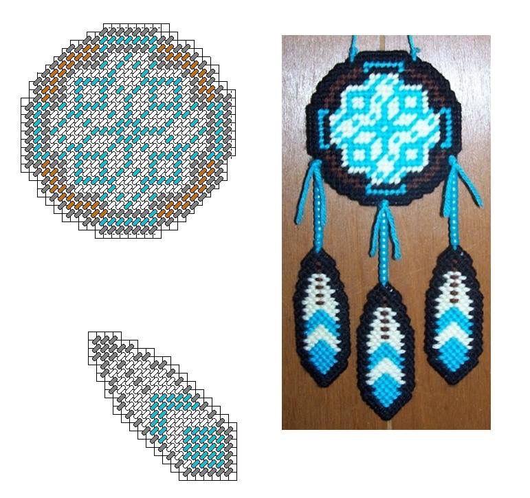 Black White Amp Blue Dreamcatcher Indian Pinterest